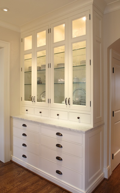 Custom residential architecture cabinetry