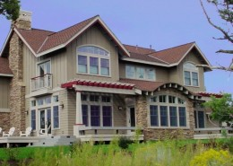 Custom Home at Aspen Lakes
