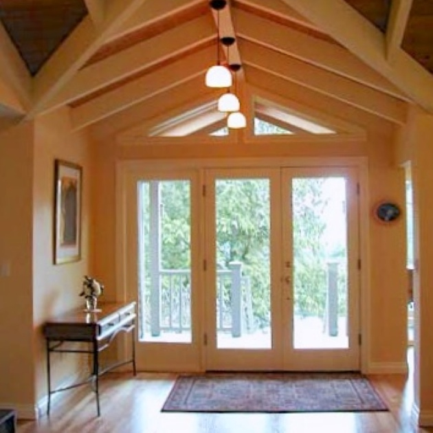 A remodeled entry for a home in Portland Oregon