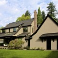 Laurelhurst House back elevation - Cella Architecture Residential Architect, Portland Oregon
