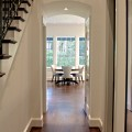 Laurelhurst House central hallway to great room - Cella Architecture Residential Architect, Portland Oregon