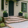 Laurelhurst House front porch Old Carolina brick paving - Cella Architecture Residential Architect, Portland Oregon