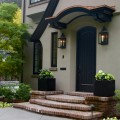Laurelhurst House front porch - Cella Architecture Residential Architect, Portland Oregon