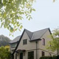 Laurelhurst House street view - Cella Architecture Residential Architect, Portland Oregon